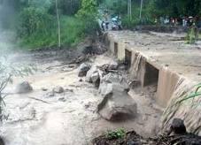 Banjir  Lahar Dingin di Sungai Gendol - Foto Republika