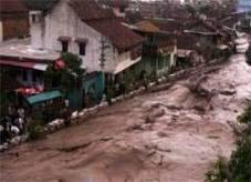 Banjir Lahar Dingin di Kali Gendol- Foto Republika